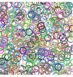 multicolored abstract chaotic circle background vector image