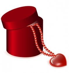 valentine gift vector image