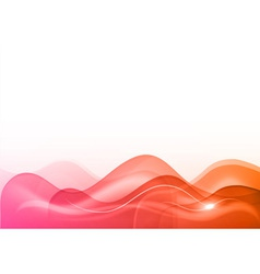 wave neon light white vector image