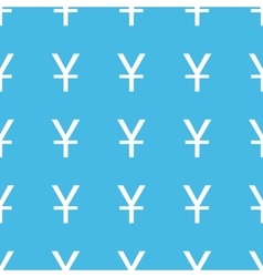 Yen straight pattern vector