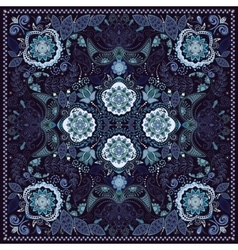 Ornamental paisley pattern vector