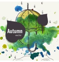 Autumn season concept vector