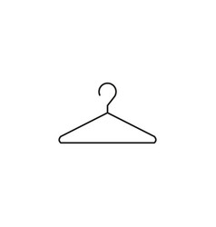 hanger line icon vector image vector image