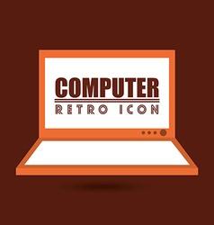 Retro icon design vector