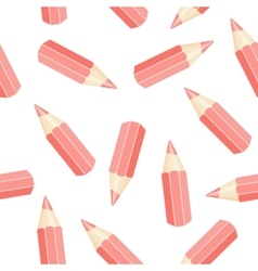 seamless pencil vector image vector image