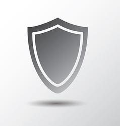 Shield shape vector