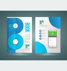 Business brochure template vector