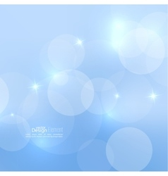 background with sparkle stars vector image