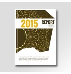 Business vintage design background cover magazine vector
