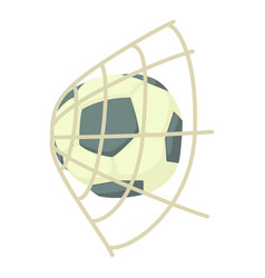 football icon cartoon style vector image