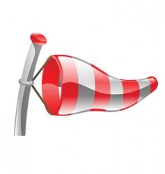 windsock illustration vector image vector image