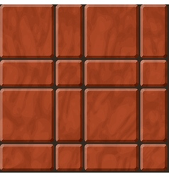 Reddish polished stone tiles texture vector