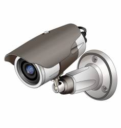 cctv outdoor vector image