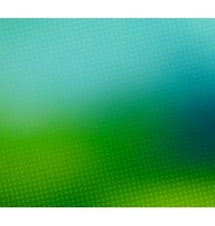 Green blurred halftone background vector