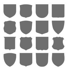 Coats of arms set vector