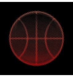 Basketball ball vector image vector image