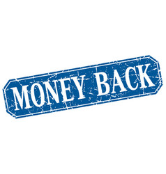 Money back vector
