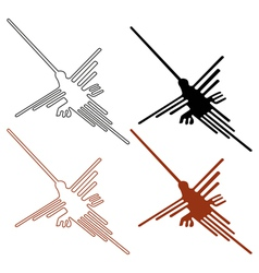 nazca lines set - vector image