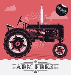 Farming Poster vector image