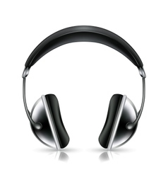 Head phones icon vector