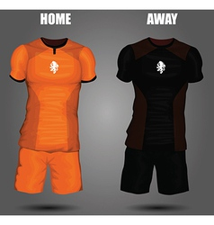 Football soccer jersey vector