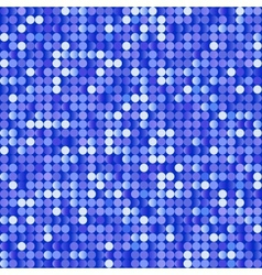 Seamless background with shiny blue paillettes vector