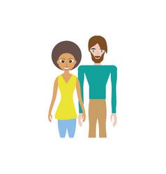 couple romantic relation image vector image