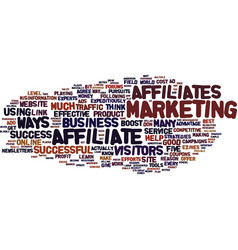 Five quick ways to boost your affiliate business vector