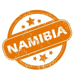 Namibia grunge icon vector