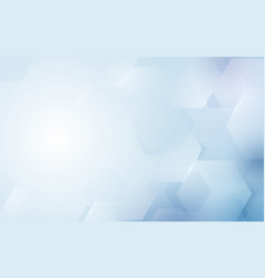 abstract repeating hexagonal shape background vector image vector image