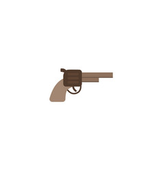flat icon gun element of flat vector image vector image