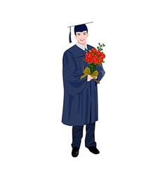 graduate vector image vector image