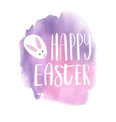 hand drawn easter greeting card vector image vector image
