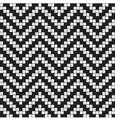 Herringbone weave geometric seamless pattern vector