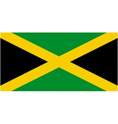 jamaican flag vector image