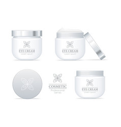 eye cream professional series set vector image vector image