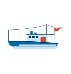 ship icon image vector image vector image