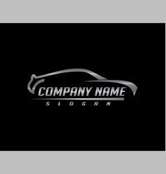 Car logo 2 black background vector