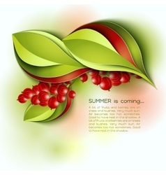 Summer is coming abstract background vector