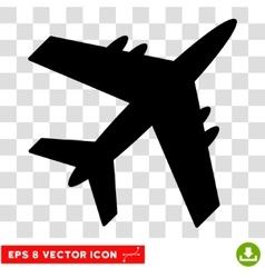 Aircraft Eps Icon vector image