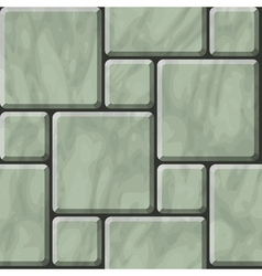 Greenish polished stone tiles texture vector image vector image