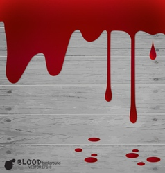 Happy Halloween design banners Blood dripping vector image vector image