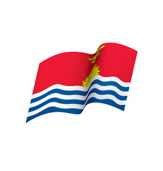 Kiribati flag vector