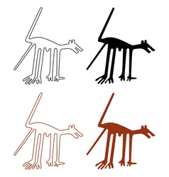 nazca lines set vector image