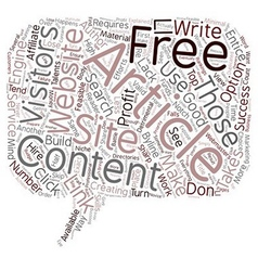 Free article content explained text background vector