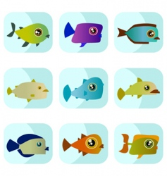 Cartoon fish vector