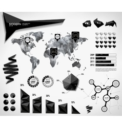 Modern elements of info graphics vector