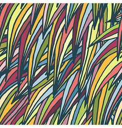 abstract hand-drawn seamless pattern vector image