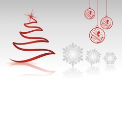 christmas collection with single shapes vector image