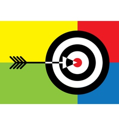Targets vector image vector image
